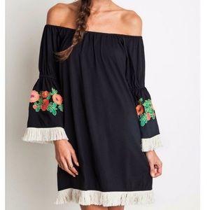 Umgee Senorita Boho fringe dress